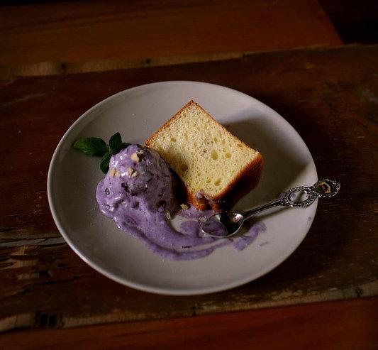 咸乳酪蓝莓冰淇淋的做法_原味乳酪戚风怎么做【鲁不猴】