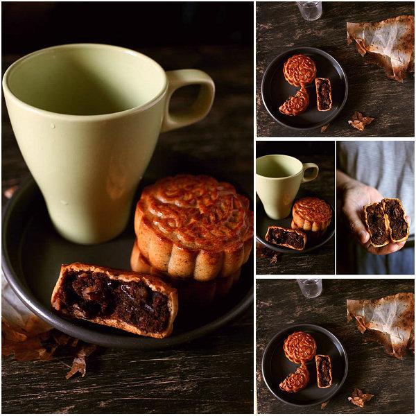广式豆沙伍仁月饼的做法_广式豆沙伍仁月饼怎么做【鲁不猴】