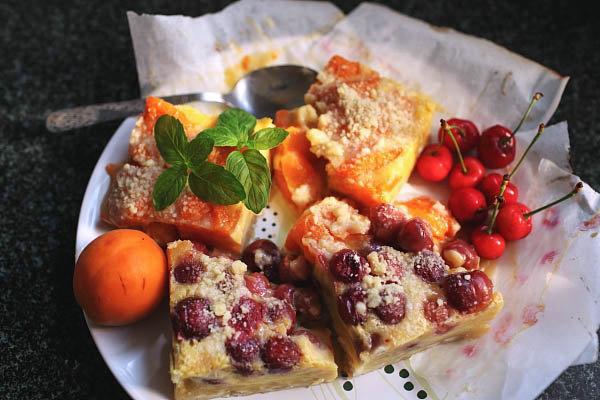 杏排和樱桃排的做法_杏排和樱桃排怎么做【鲁不猴】